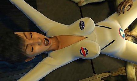 Ella Knox 성별을 가진 젊은 도넛 및 얼굴,가슴이,마사지